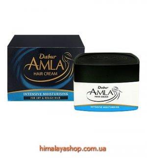 Крем-маска для интенсивного увлажнения сухих волос Amla Hair Cream Dabur