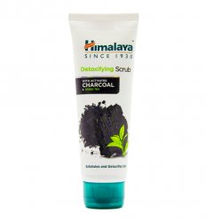 Детокс скраб с углем для очищения лица (Detoxifying scrub with activated charcoal), Himalaya Herbals