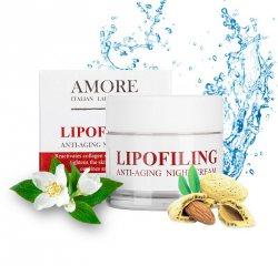 Концентрированный ночной крем с липофилинг комплексом, AMORE