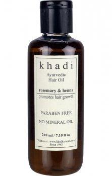 Масло для стимуляции роста волос Розмарин и Хна, Khadi