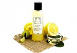 Шампунь травяной Мёд и Лимон (Honey&Lemon), Khadi