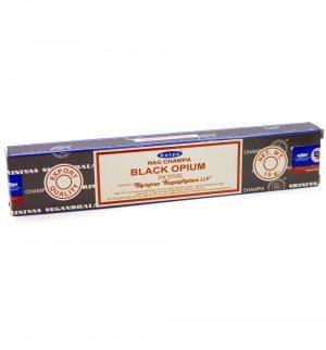 Благовония Чёрный опиум (Black Opium incense), Satya