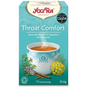Аюрведический йога чай Throat Comfort, Yogi Tea