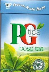 Чай loose tea, Pg tips