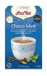 Аюрведический йога чай Шоколадная мята (Choco mint), Yogi tea