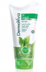 Скраб для жирной кожи лица Oil control DermoViva, Dabur