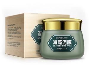 Противовоспалительная маска для лица с вулканической грязью и зелеными бобами (Green Beans Mask) (BQY0740), Bioaqua