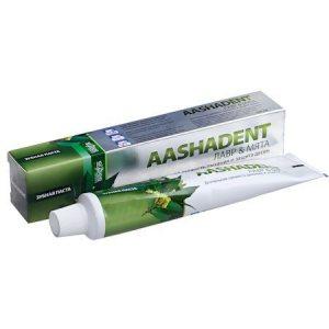 Зубная паста Лавр и Мята (AASHADENT), Aasha Herbals