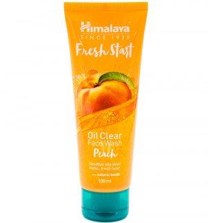 "Гель для умывания ""Свежий старт"" с персиком (Fresh start oil clear face wash peach), Himalaya Herbals"