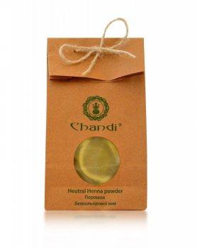 Бесцветная нейтральная хна для волос, Chandi