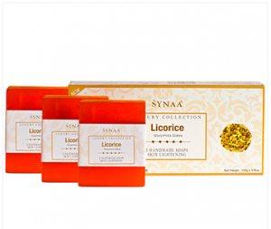 Натуральное мыло ручной работы Лакрица, Synaa