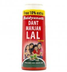 Зубной порошок Дант Манджан Лал (Dant Manjan Lal), Baidyanath