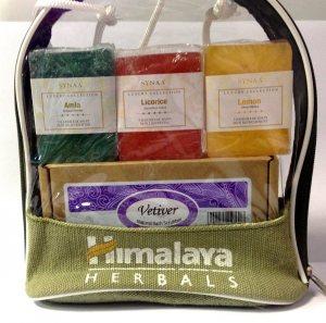 """Подарочный набор мыло ручной работы """"Амла, лакрица, лимон"""", Synaa"""
