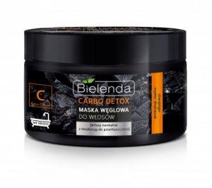 Угольная маска для волос, CARBO DETOX, BIELENDA