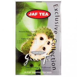 Чай Jaf Tea Green Tea Exotic Fruit в пакетиках