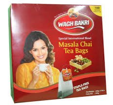 Чай со специями в пакетиках Masala Chai Tea Bags, Wagh Bakri