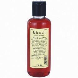 Шампунь травяной Мед и миндальное масло (Honey and almond oil), Khadi