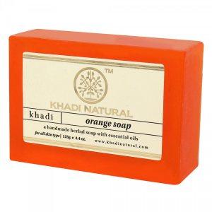 Аюрведическое мыло ручной работы АПЕЛЬСИН, Khadi