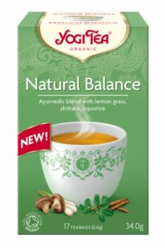 Аюрведический йога чай Природный баланс (Natural balance), Yogi tea