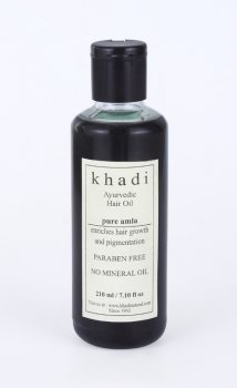Аюрведическое масло для роста волос Амла, Khadi