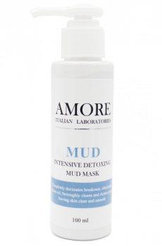 Концентрированная очищающая грязевая маска для жирной и комбинированной кожи, AMORE