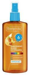 Каротиновое масло для загара SPF 6 (Bikini), Bielenda
