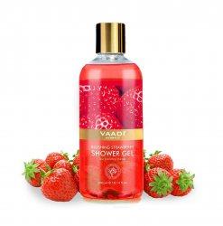 Гель для душа с экстрактом красных ягод  (Blushing strawbarry Shower Gel), Vaadi