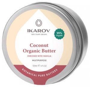 Органическое кокосовое масло обогащенное ванилью (Coconut Organic Butter Enriched with Vanilla), Ikarov