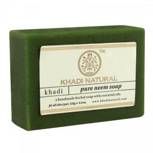 Аюрведическое мыло ручной работы ЧИСТЫЙ НИМ, Khadi