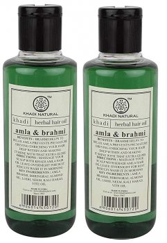 Масло для волос Амла и Брами (Herbal Hair oil Amla Brahmi), Khadi