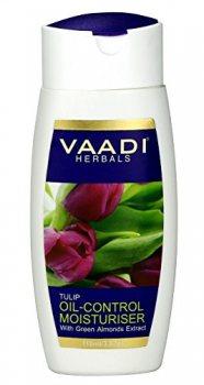 Увлажняющий лосьон для лица с маслом тюльпана и зеленого миндаля, Vaadi Herbals