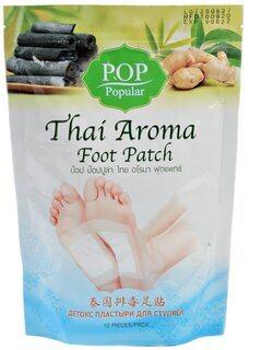 Тайские Детокс-патчи для ног (Thai Aroma Foot Patch), POP Popular