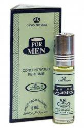 Мужские масляные духи For Men, Al Rehab