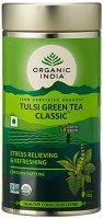 Лечебный аюрведический чай Tulsi Green Tea Classic, Organic India - доп. фото