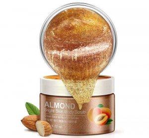 Миндальный скраб для тела с экстрактом абрикоса (Almond Shell Scrub), (BQY5655D), Bioaqua