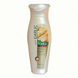 Укрепляющий шампунь для ломких и выпадающих волос с чесноком, Vatika Dabur