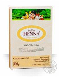 Краска на основе хны Имбирный блонд (ginger blonde), Indian Henna