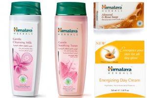 Набор косметики для чувствительной кожи лица Нежность, Himalaya Herbals