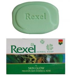 Индийское травяное мыло для проблемной кожи, Rexel