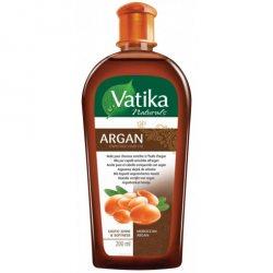 Масло для волос, обогащенное арганой, DABUR VATIKA