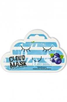 Маска-облачко для лица детоксикация Merry Berry, Bielenda