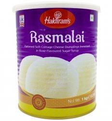 Индийский творожный десерт Расмалай (Rasmalai), Haldiram's